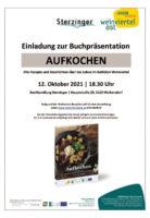 """12. 10. 2021: """"Aufkochen"""" in der Buchhandlung Sterzinger in Wolkersdorf"""
